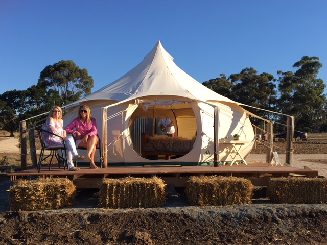 Burkirk Glamping in Clare Valley
